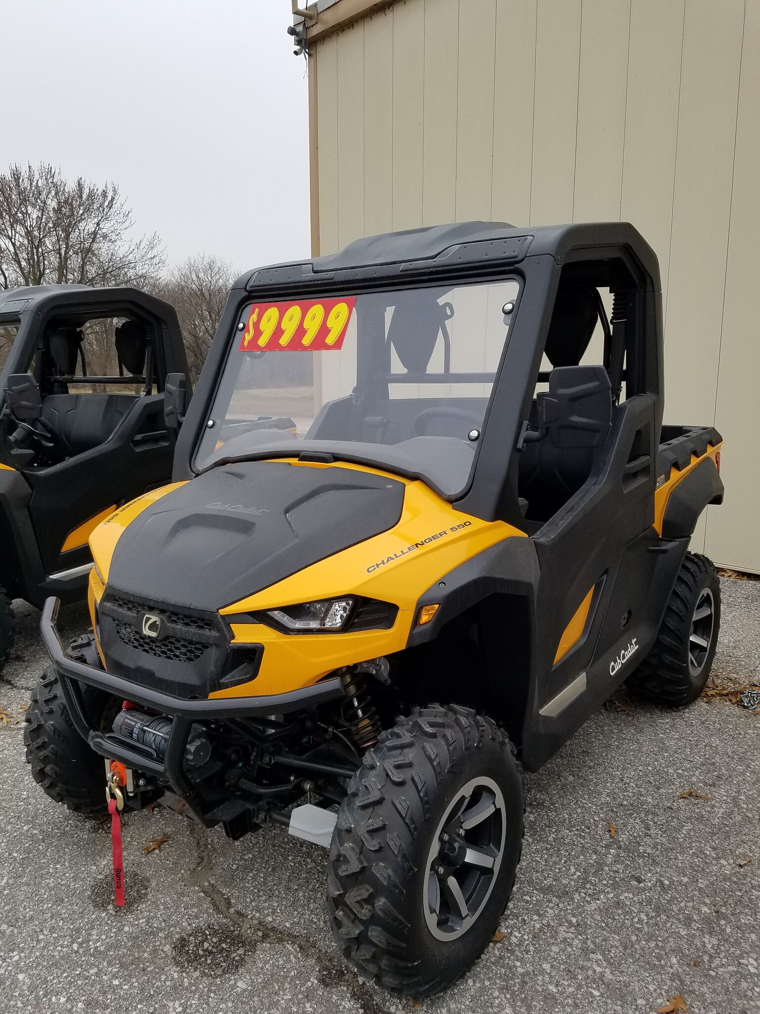 Cub Cadet Challenger 550 Utility Vehicle - Yellow
